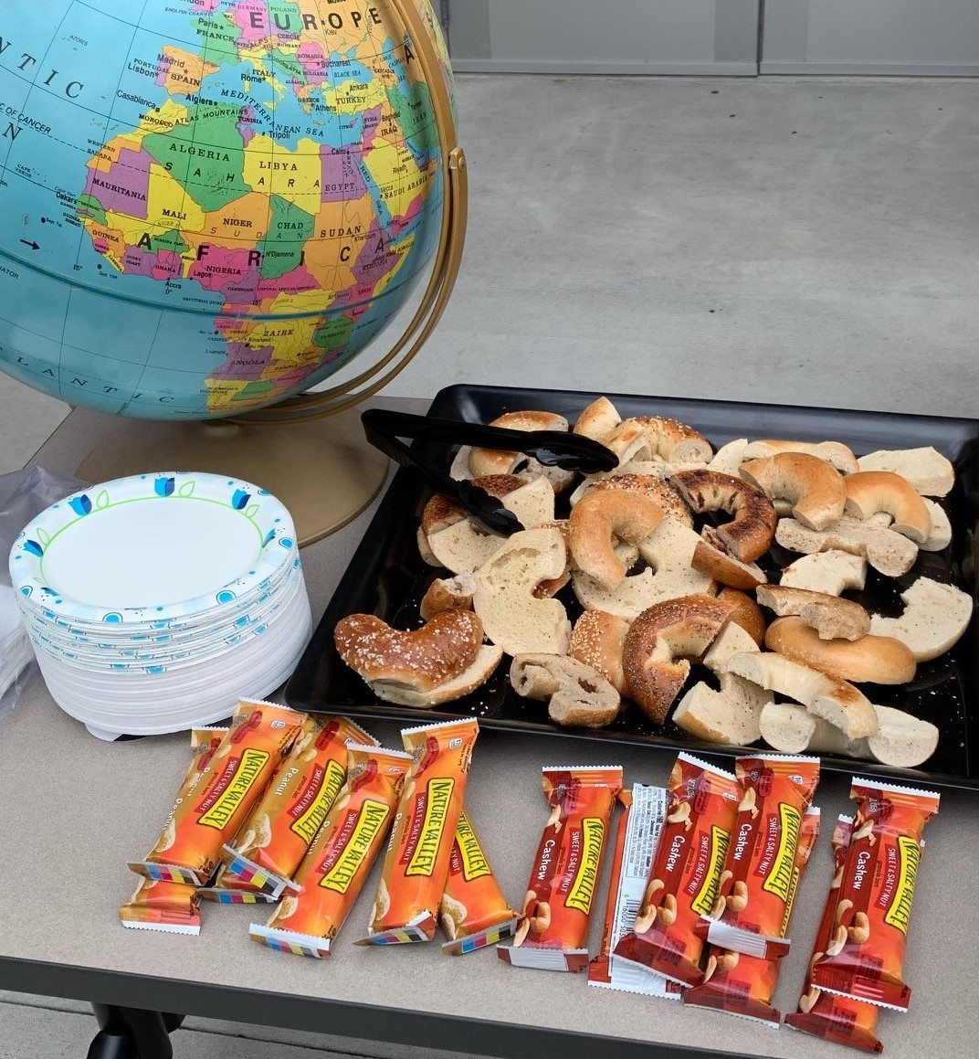 Some of the offerings at the Department of Geography's Open House