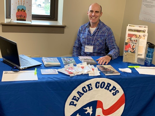 There are three current graduate students in the geography department who served in the Peace Corps. The field and the organization make good partners.