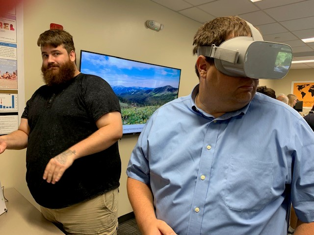 Students see life in a different way through virtual reality.