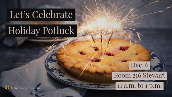 Geography Holiday Potluck