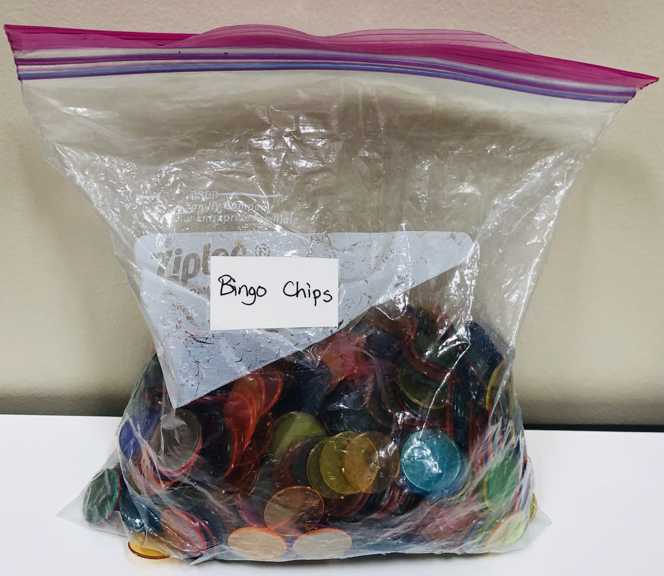 1 bag of bingo chips