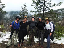 Students at last year's Maymester in Colorado